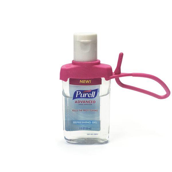 Suporte PURELL® Jelly Wrap Rosa para frasco 15ml ou 30ml