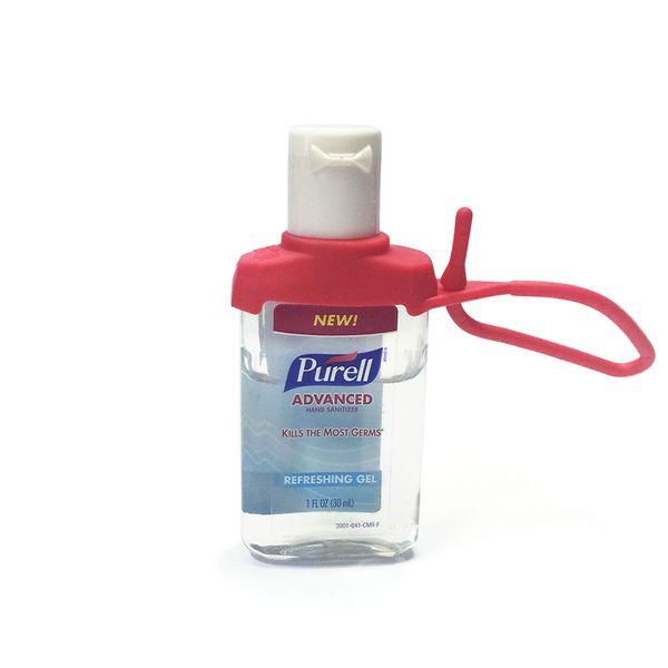 Suporte PURELL® Jelly Wrap Vermelho para frasco 15ml ou 30ml
