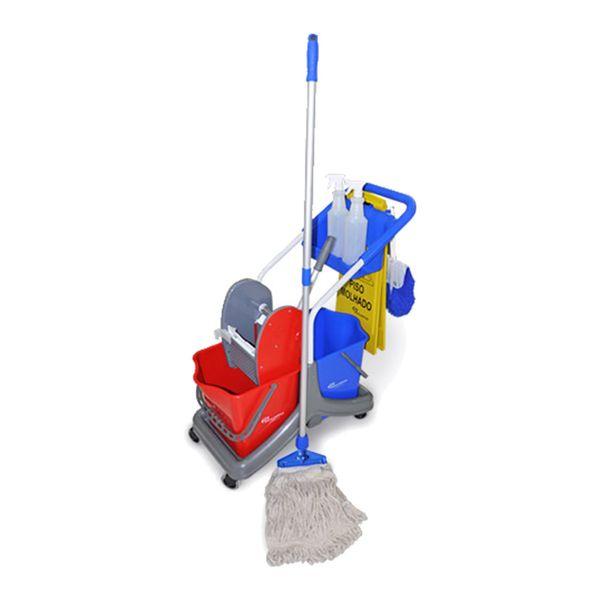 Kit para Limpeza de Pisos Frios em Geral Bralimpia