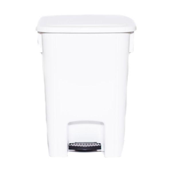 Cesto para Lixo com Pedal 30 Litros Branco Bralimpia
