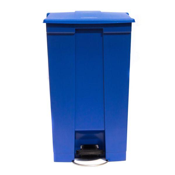 Lixeira de Pedal 87 Litros Azul