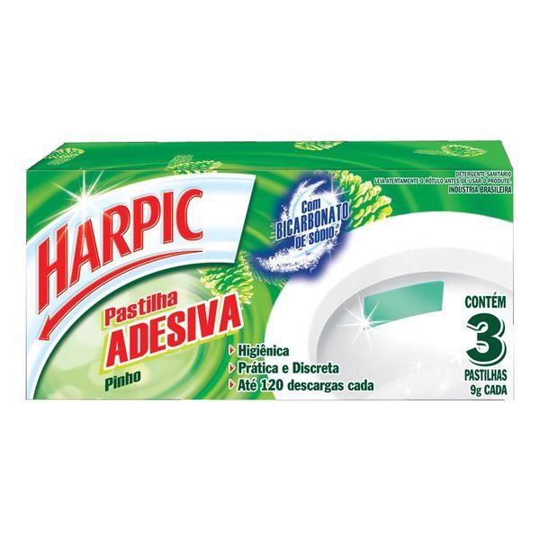 Pastilha Sanitária Adesiva Harpic Pinho
