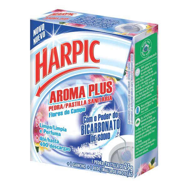 Pedra Sanitária Harpic Aroma Plus Flores do Campo