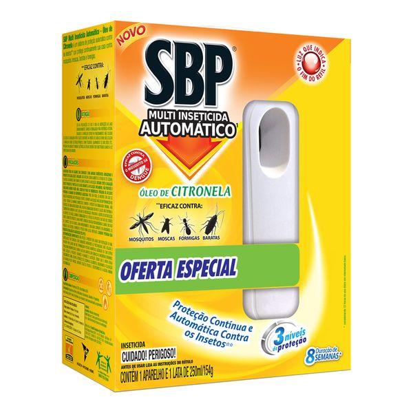 Multi-Inseticida SBP Automático Óleo de Citronela com Aparelho e Refil 250ml