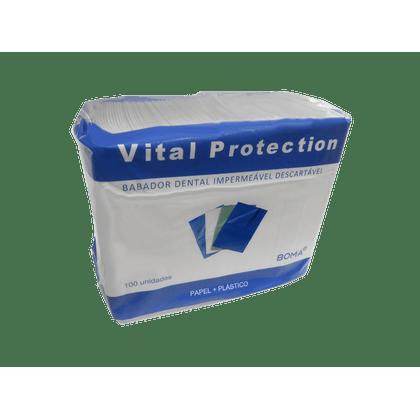 BABADOR--DESCARTAVEL-BRANCO-VITAL-PROTECTION---BOMA