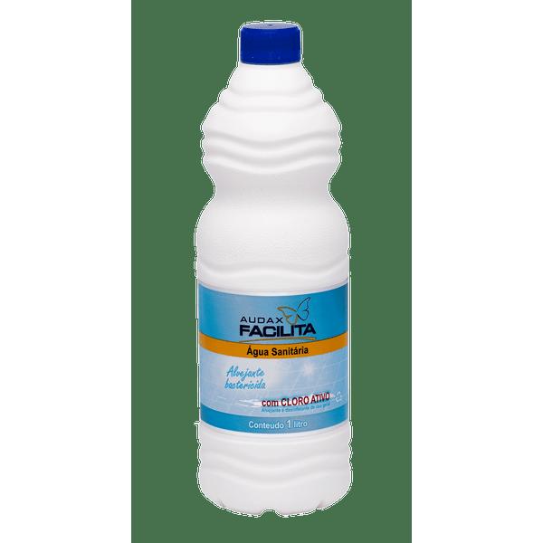 Água Sanitária 1 Litro Audax Facilita