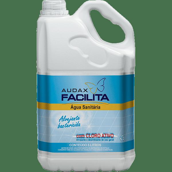Água Sanitária 5 Litros Audax Facilita