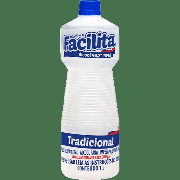Álcool 46.2° para Limpeza 1 Litro Audax Facilita
