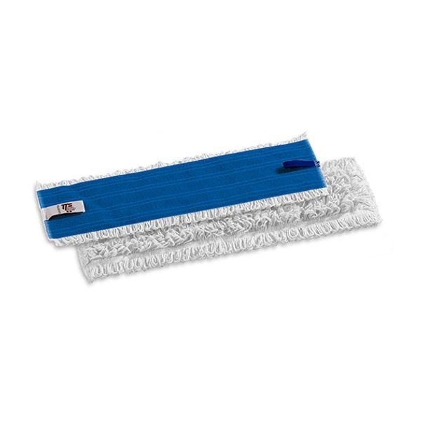 Refil Velcro Limpeza Umida Poliester 40cm Ponta Dobrada TTS