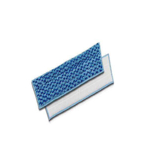 Refil Velcro Microativa 40cm Azul Microfibra e Nylon TTS