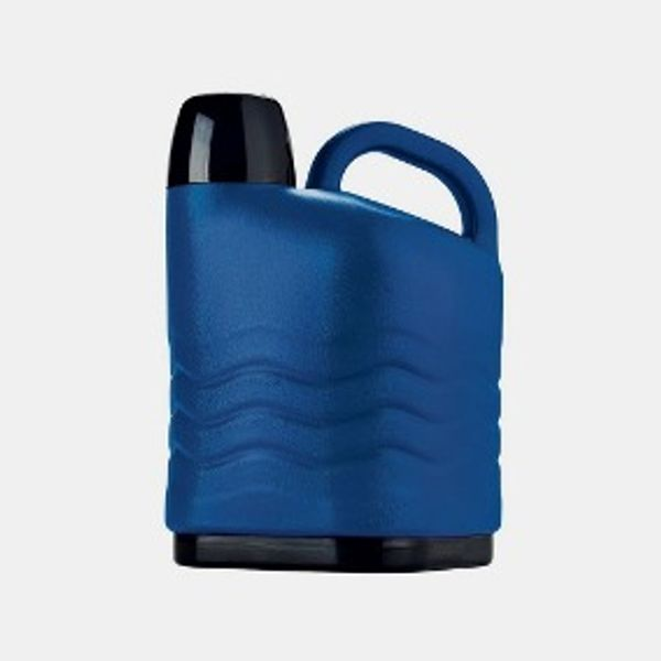 Garrafa Termico Azul com Rosca 5 Litros Invicta