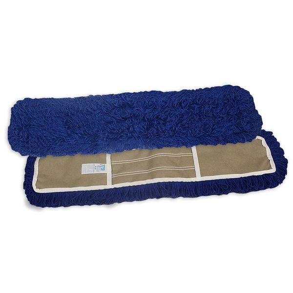Refil Mop Pó 40x12cm Acrílico Azul TTS