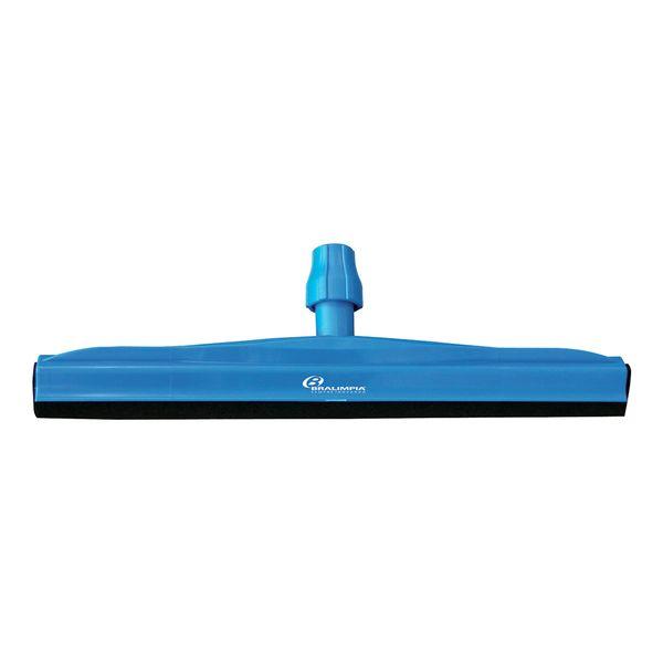 Rodo Dry Sem Cabo com Rosca 55cm Azul Bralimpia