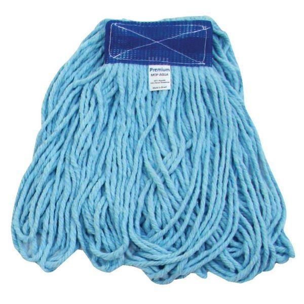 Refil Mop Úmido com Loop 320g Azul Bralimpia