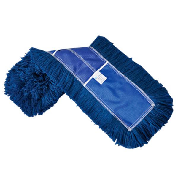 Refil Mop Pó Euro 60x12cm Azul Bralimpia