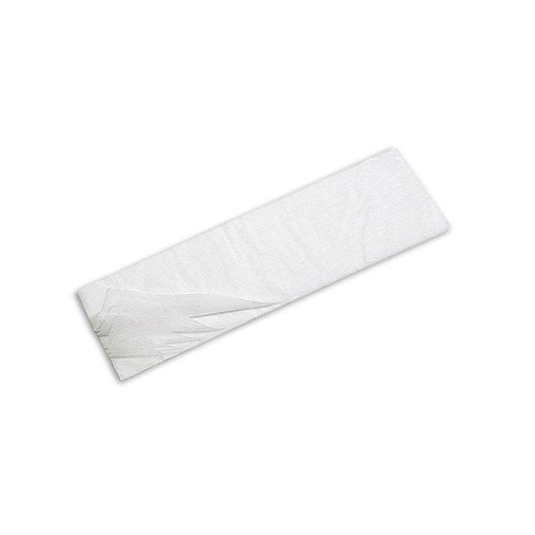 Refil Velcro Microfibra 40cm Ponta Dobrada Branco TTS