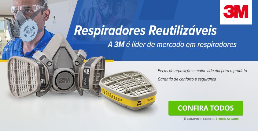 3M - Respiradores Descartáveis