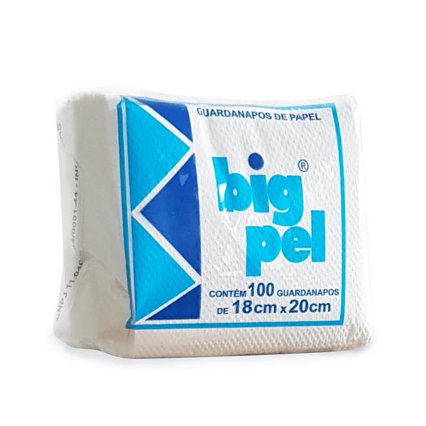 Guardanapo de Papel Big Pel 18x20cm Folha Simples c/5.000 unidades