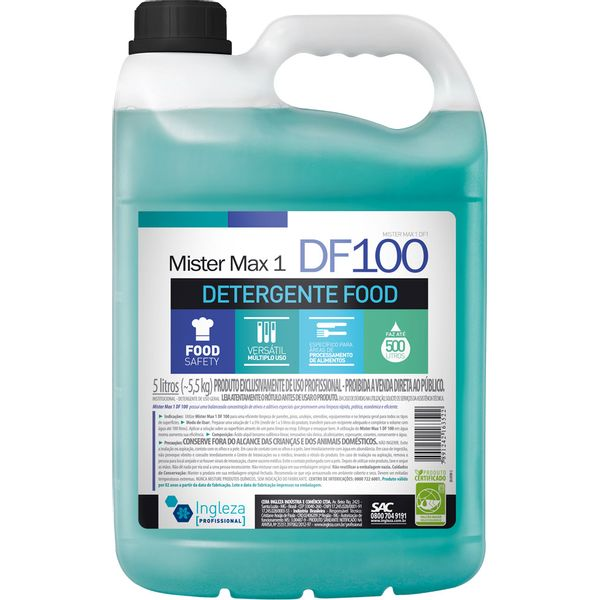 Detergente Food Mr Max1 5 Litros Ingleza