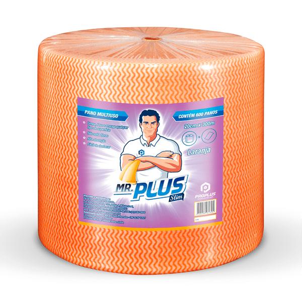 Pano Limpeza Leve 20x300m Laranja Pro Plus