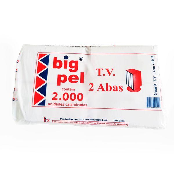Guardanapo de papel 14x14cm Big Pel com 2.000 unidades