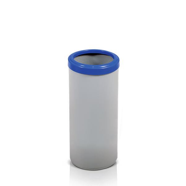 Cesto de Lixo Plástico 25 Litros com Aro Inox Artplan