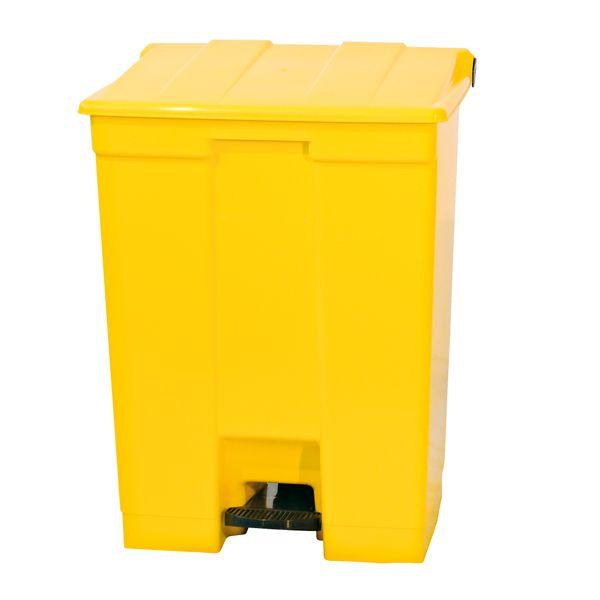Coletor para Lixo - 30 litros Amarelo