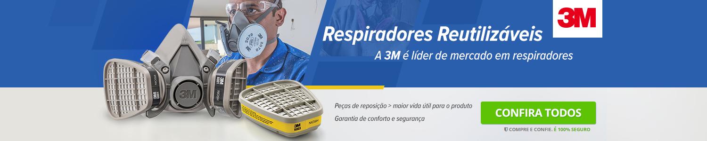 Respiradores Reutilizáveis da 3M