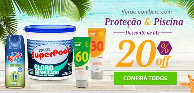 Verão 2018 - Proteção e Piscina