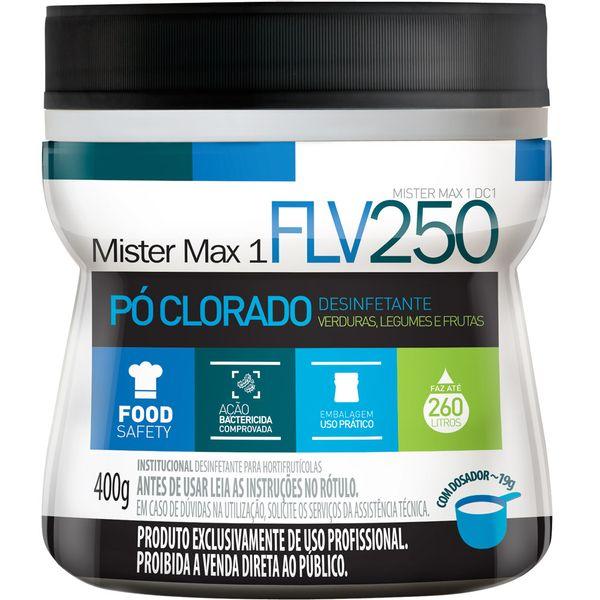 Desinfetante em Pó Clorado FLV250 Ingleza