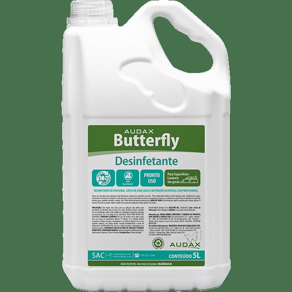 Desinfetante Eucalipto 5 Litros Audax Butterfly