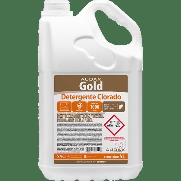 Detergente Clorado 5 Litros Audax Gold