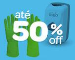 Higiene e Limpeza com até 50% OFF