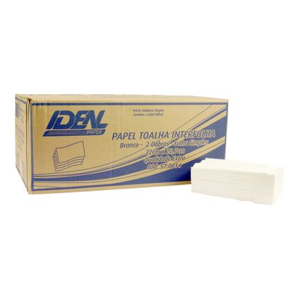 Papel-Toalha-Interfolha-2-Dobras-Branco-22x20cm-C--4800-Fs-Idealpaper_0