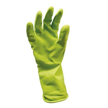 Luva de Látex Antiderrapante TOP Verde Sanro