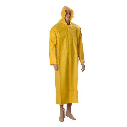 Capa de Chuva em PROT-VIN Amarelo PROT-CAP