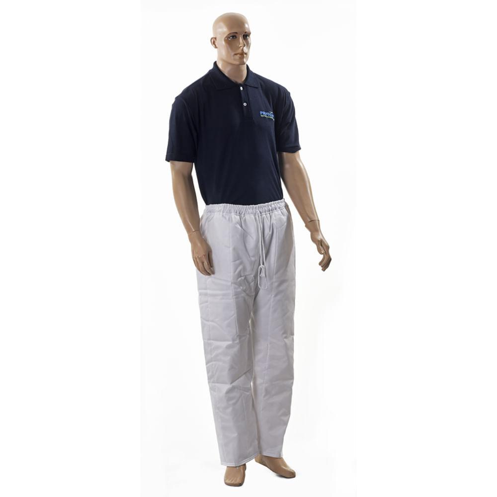 6f56e60c5fa8b Calça Frigorífica Branca para Até -35° Graus Pamcold - Net Suprimentos