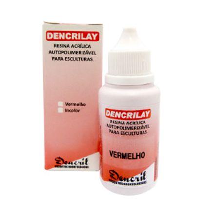 ACRILICO-DENCRILAY-VERMELHO-25G---DENCRIL
