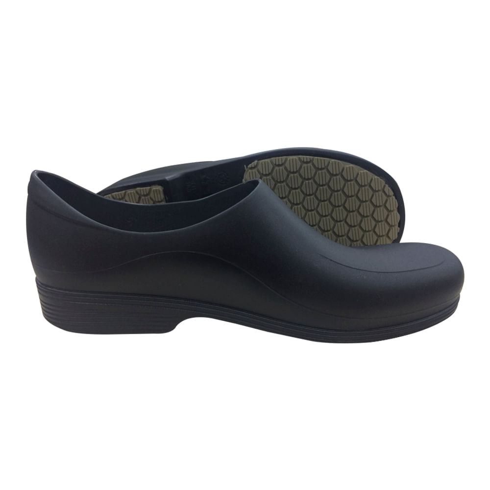 90210142f Sapato Ocupacional Antiderrapante Tradicional Man Preto Sticky Shoes ...