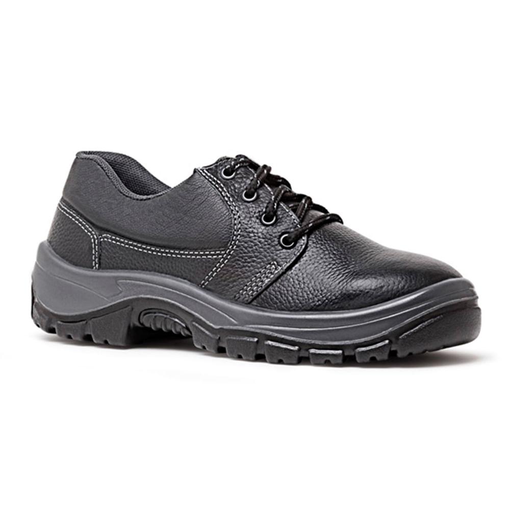 192bf84734 Sapato de Couro Flex com Biqueira de Plástico Fujiwara - Net Suprimentos