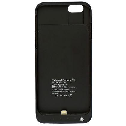 Carregador Power Bank, External Case para iPhone 6 Preto