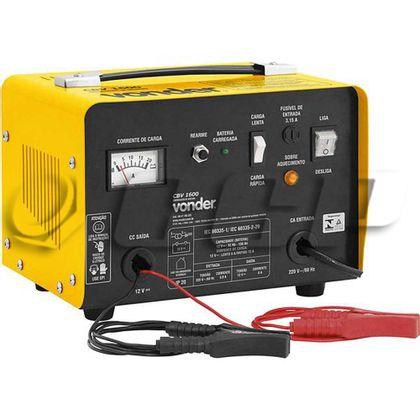 Carregador bateria CBV 1600 127Volts - 68.47.160.127 - Vonder