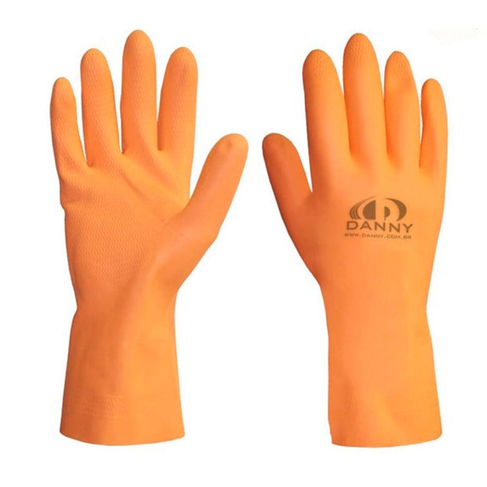 17065eef2ca3f Luva em Látex Max Orange Danny - Net Suprimentos