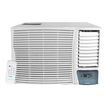 Ar Condicionado Janela Eletrônico 30000 Btus Quente e Frio 220v Springer Silentia ZQA305RB