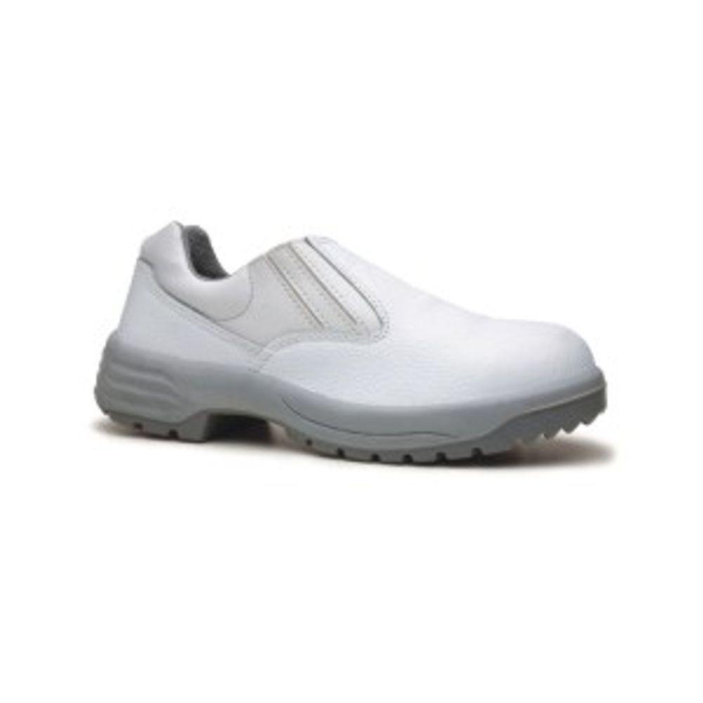 14d2067a6f Sapato de Couro Branca Fechamento em Elástico Fujiwara - Net Suprimentos