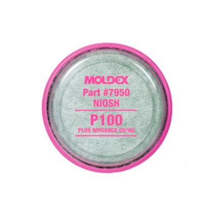 Filtro Mecânico 7950 P3 - Contra Poeiras, Névoas, Fumos e Radionuclídeos Moldex