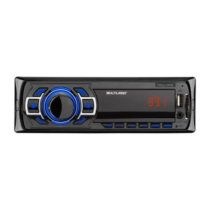 Som Automotivo New One Multilaser Mp3 Player 4 x 12,5 - P3318