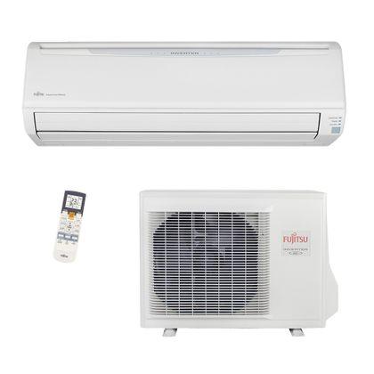 Ar Condicionado Split Inverter 24000 Btus Quente e Frio 220v Fujitsu ASBA24LFC
