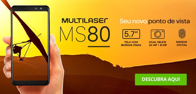 Lançamento Smartphone MS80