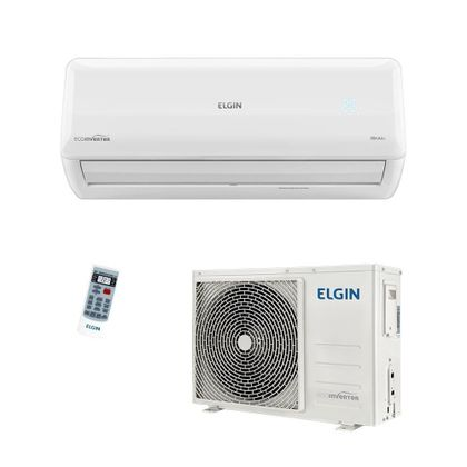Ar Condicionado Split Hi-Wall Eco Inverter Elgin 30000 Btus Frio 220V